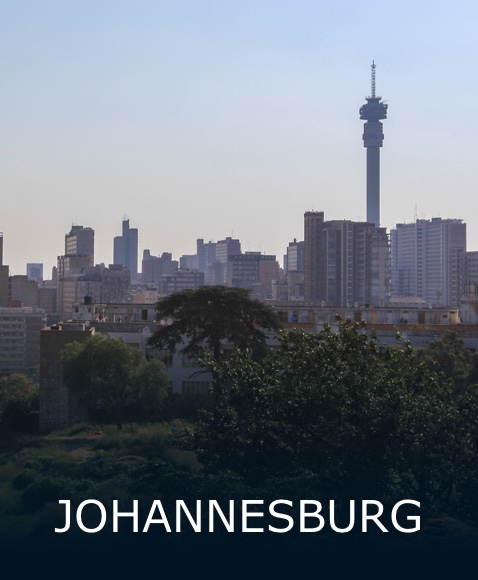 The city of Johannesburg