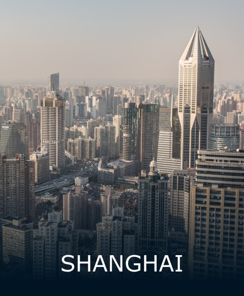The city of Shanghai